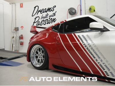 Auto_Elements_Sydney_Australia_Automotive_Passion_Fitment_Bodykit_Detailing_Custom_Amuse_Nissan_370Z_Fairlady_Air_Lift_Performance_Diffuser_Carbon_Fibre_Front_Splitter_Side