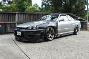 Auto-Elements-Nissan-Skyline-R34-Services-ZTUNE-Aero-Parts-Installation