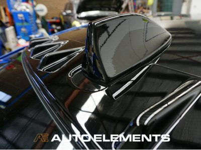 Auto Elements Australia Sydney HaloEFX Performance Coatings Authorised Applicator Workshop Services Refinishing Paint Reversible Subaru Impreza WRX STI 2016 VAB GlossBlack Roof Colour Coding Antenna