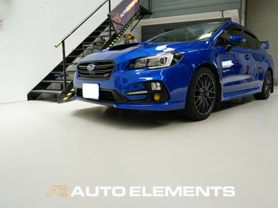 Auto Elements Australia Sydney HaloEFX Performance Coatings Authorised Applicator Workshop Services Refinishing Paint Reversible Subaru Impreza WRX STI 2016 VAB GlossBlack Roof Colour Coding Whole