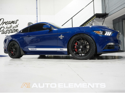 Auto Elements Clear Shield Protect PPF Paint Protection Removable Paint Peelable Sydney Applicator Spray Refinishing Ford Mustang Shelby 500 50th Anniversary American