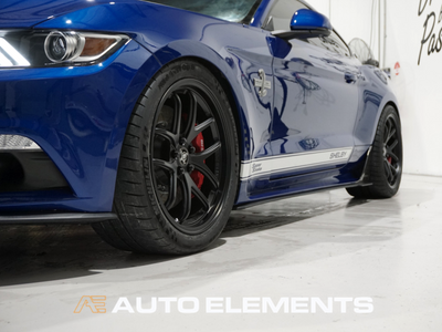 Auto Elements Clear Shield Protect PPF Paint Protection Removable Paint Peelable Sydney Applicator Spray Refinishing Ford Mustang Shelby 500 50th Anniversary American Muscle