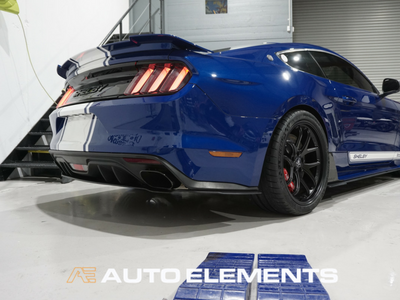 Auto Elements Clear Shield Protect PPF Paint Protection Removable Paint Peelable Sydney Applicator Spray Refinishing Ford Mustang Shelby 500 50th Anniversary Blue Oval