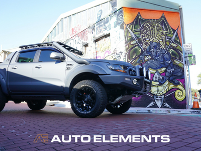 Auto Elements Ford Ranger Wildtrak Accessories 4x4 OffRoad ARB Fox Racing Lift Kit Removable Paint