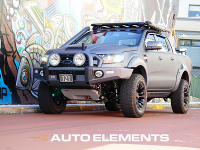 Auto Elements Ford Ranger Wildtrak Accessories 4x4 OffRoad ARB Fox Racing Lift Kit Removable Paint Fuel Wheels Rhino Rack