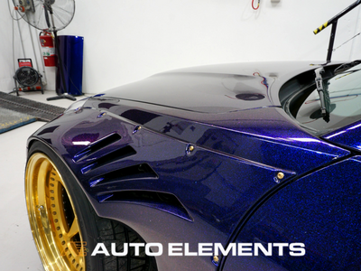 Auto Elements HaloEFX Australia 350z Rocket Bunny Hot Import Nights Peel Removable Paint Eye Candy Customz Bonnet Ikuchi (1)