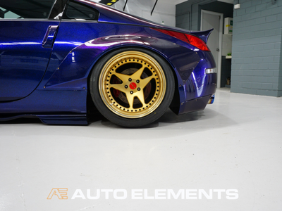 Auto Elements HaloEFX Australia 350z Rocket Bunny Hot Import Nights Peel Removable Paint Eye Candy Customz Ikuchi Rear (1)