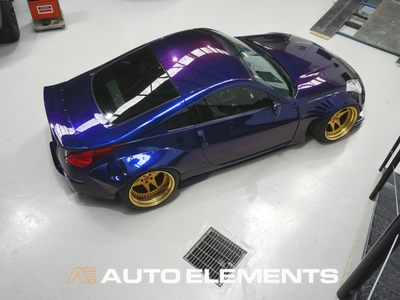 Auto Elements HaloEFX Australia 350z Rocket Bunny Hot Import Nights Peel Removable Paint Eye Candy Customz Ikuchi Top (1)