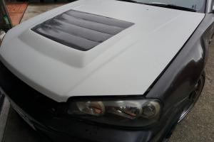 Auto Elements Nissan Skyline GT Services Fitment Bonnet Vent
