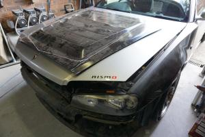 Auto Elements Nissan Skyline GT Services Fitment Custom Fibreglass Bonnet Vents