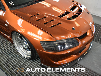 Auto Elements Removable Paint Peelable Sydney Applicator Spray Refinishing Mitsubishi Evolution 8 EyeCandyCustomz Booth