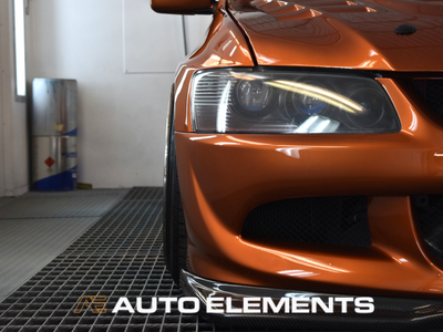 Auto Elements Removable Paint Peelable Sydney Applicator Spray Refinishing Mitsubishi Evolution 8 EyeCandyCustomz Brown