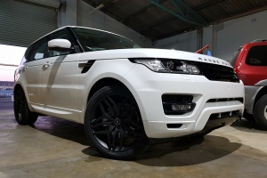 Auto Elements Services 2017 Range Rover Sport HSE Colour Coding Fuji White Black