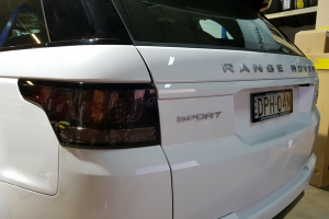 Auto Elements Services 2017 Range Rover Sport HSE Smoked Tinted Tail Lights NightShades