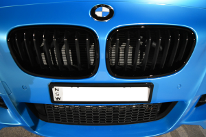 Auto Elements Services Colour Coding Refinishing BMW M135i MPerformance Black Kidney Grilles