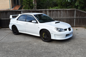 Auto Elements Services Custom Installation Widebody 2006 Subaru Impreza WRX STi Hawkeye ABW Widebody WRC