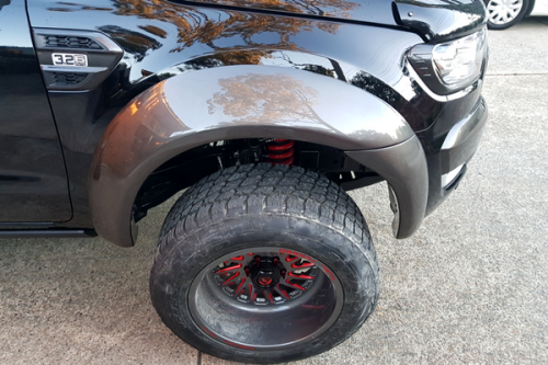 Auto Elements Services Paint Custom Flares Ford Ranger PX2 Wildtrak 100mm Front Left Flare