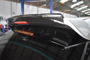 Auto Elements Subaru WRX Services FItment Gurney Flap