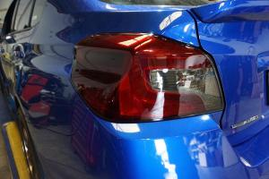 Auto Elements Subaru WRX Services Refinishing Smoked Tail Lights