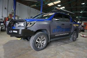 Auto Elements Toyota Hilux Services Refinishing Colour Coding
