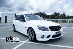 Auto Elements Services Vinyl Wrap Mercedes C63 AMG